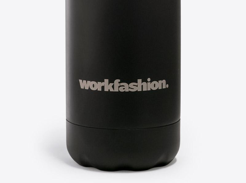 trinkflasche workfashion close-up