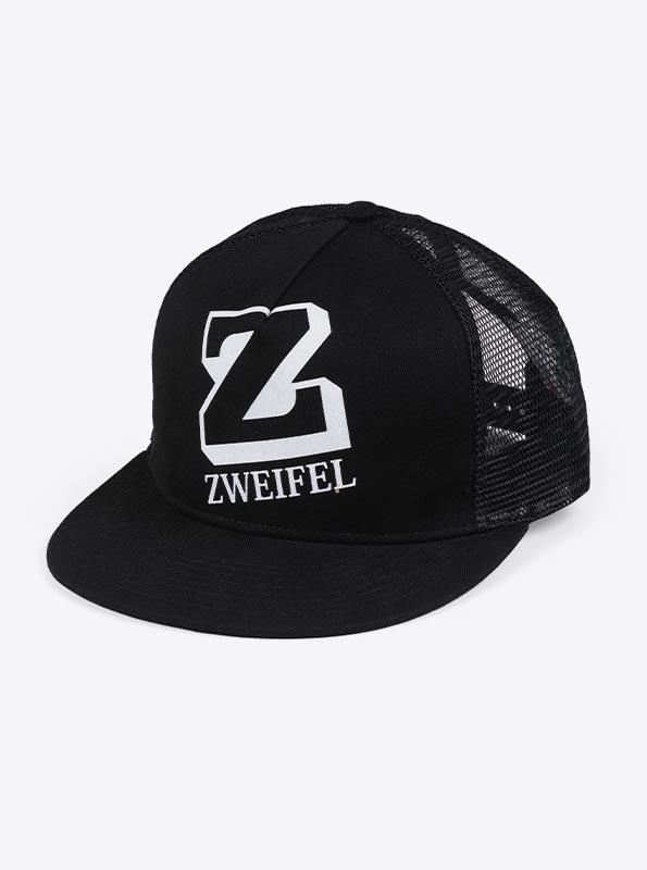 Trucker Cap Mit Logo Bedrucken Zweifel Schwarz