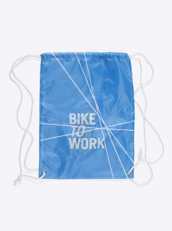 Turnbeutel Gym Bag Bedruckt Polyester Biketowork