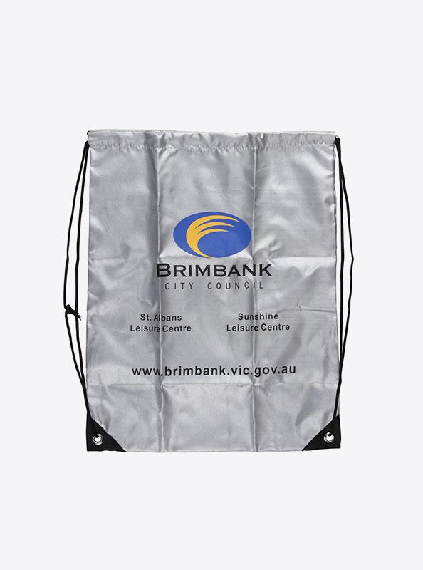 Turnbeutel Gym Bag Bedruckt Polyester Brimbank