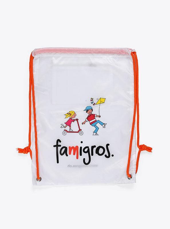 Turnbeutel Gym Bag Bedruckt Polyester Famigros
