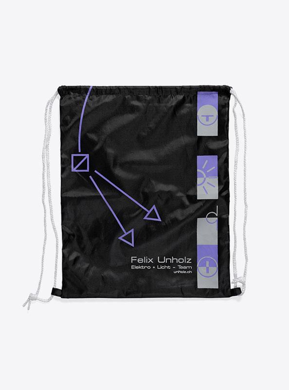 Turnbeutel Gym Bag Bedruckt Polyester Felixunholz
