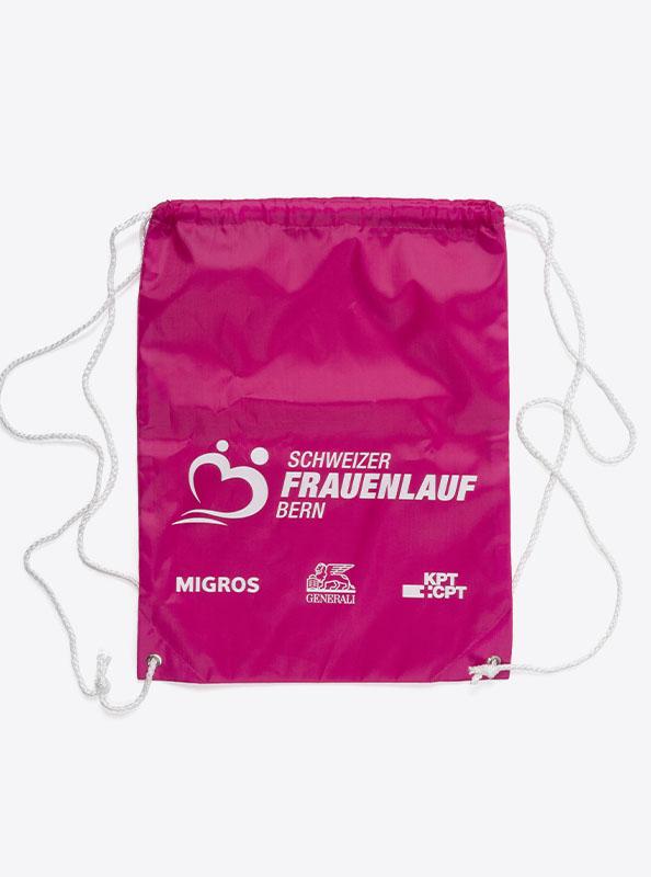 Turnbeutel Gym Bag Bedruckt Polyester Frauenlauf