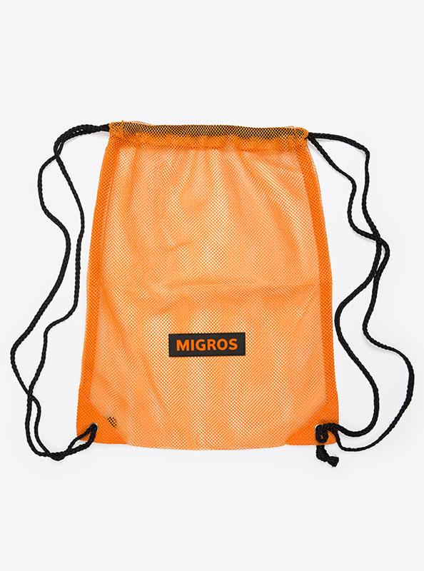 Turnbeutel Gym Bag Bedruckt Polyester Migros