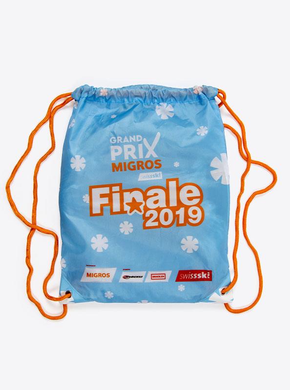 Turnbeutel Gym Bag Bedruckt Polyester Migrosgrandprix