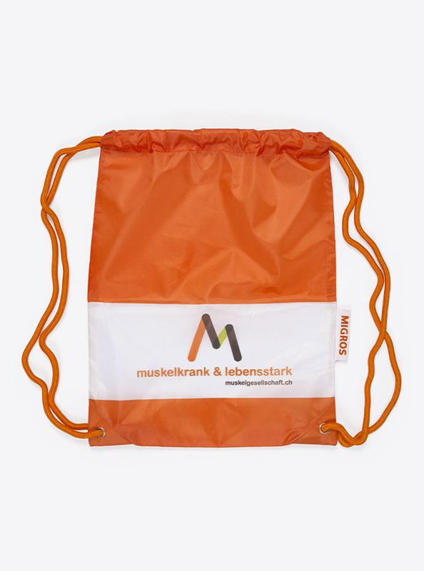 Turnbeutel Gym Bag Bedruckt Polyester Muskelgesellschaft