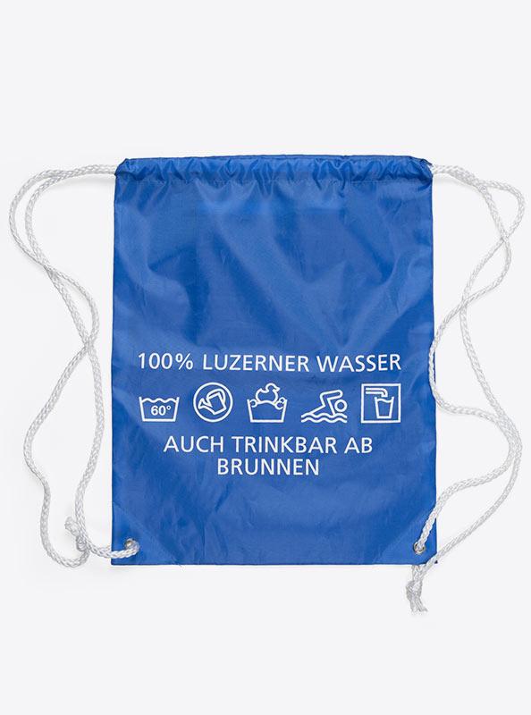 Turnbeutel Gym Bag Bedruckt Polyester Stadt Luzern