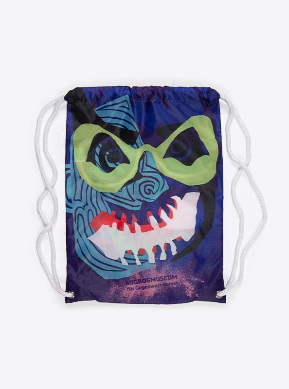 Turnbeutel Gym Bag Bedruckt Polyester Migrosmuseum