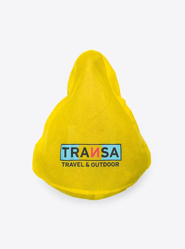 Velosattel Schutz Bedrucken Transa