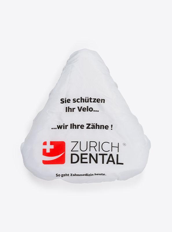 Velosattel Schutz Mit Logo Bedrucken Polyester Dental Zurich
