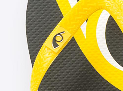 Veredelung Flip Flops Pvc Label