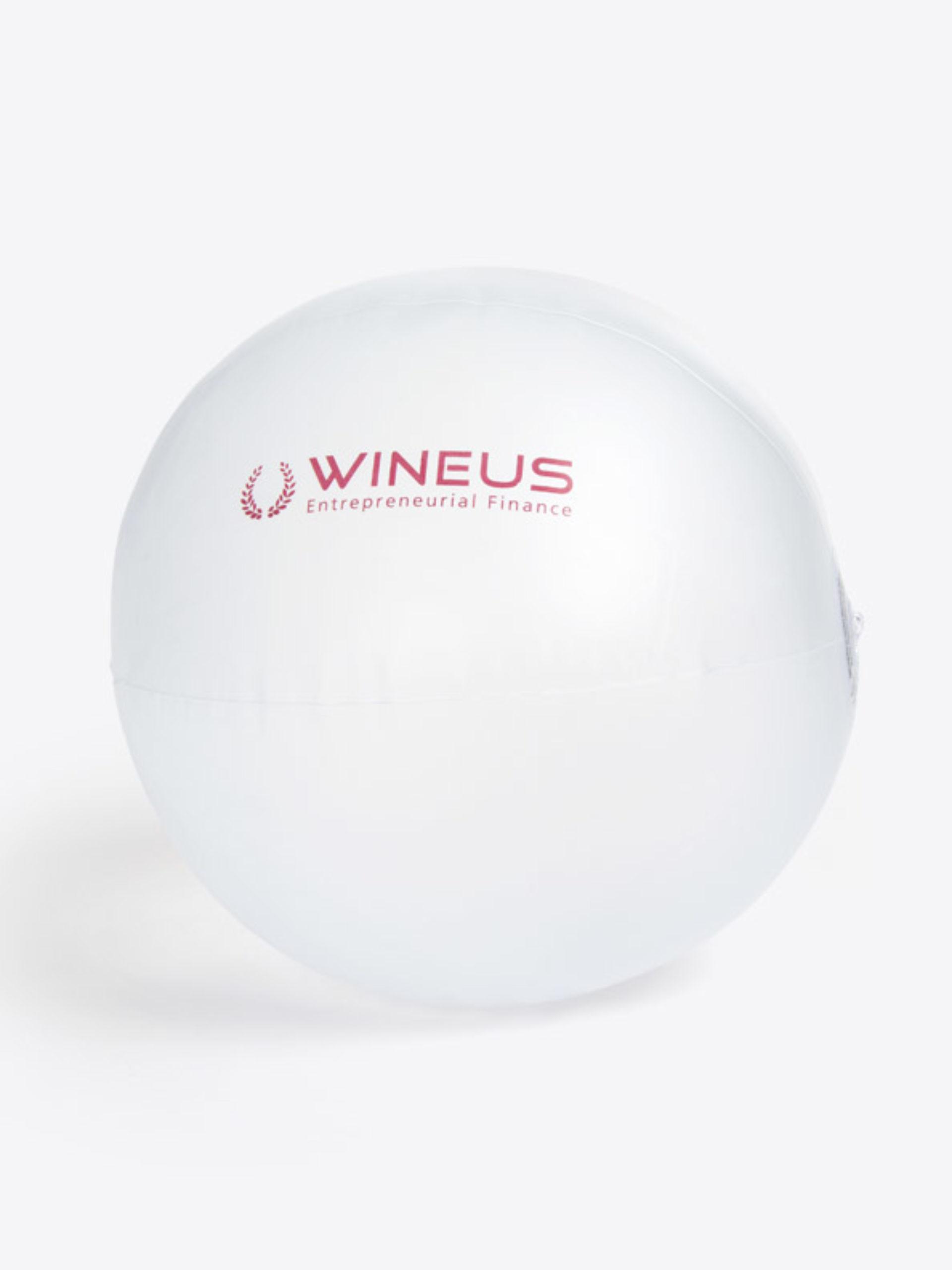 Wasserball Mit Logo Bedruckt Transparent
