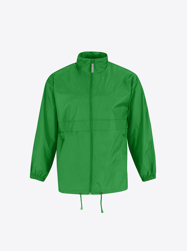 Windjacke Team Bedrucken Bundc Sirocco Ju 800 Real Green